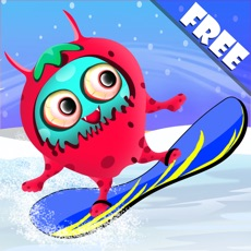 Activities of Barry the Berry Snow Monster : The Winter Fun Ski Race