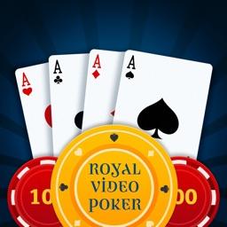 Royal Video Poker - All American, Jacks or Better, & Bonus Flush