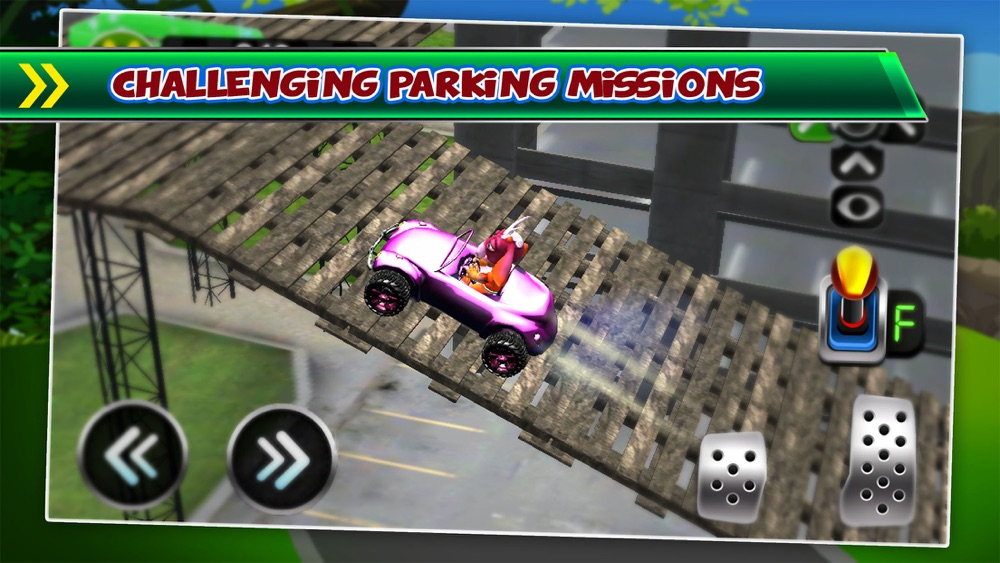 Goat Driving Car Parking Simulator - 3D Sim Racing & Dog Run Park Games! hack tool