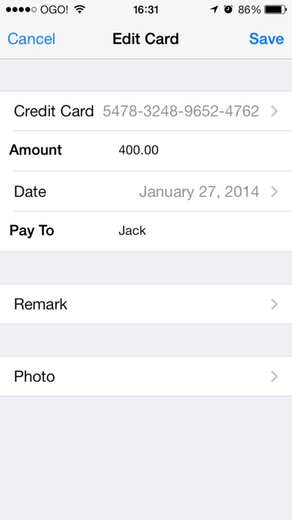 Credit Cards And Cheques Keeper With Backup screenshot-3