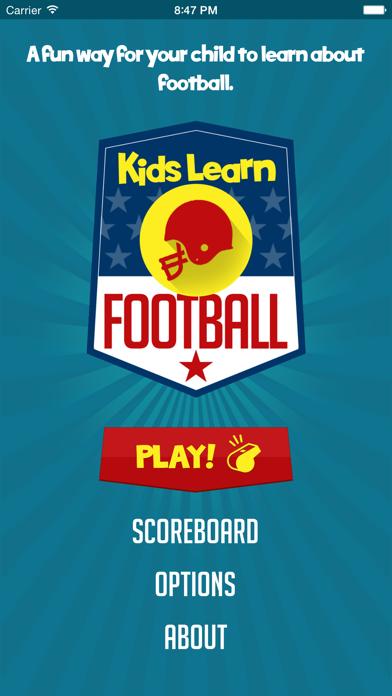 Kids Learn Football screenshot three