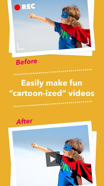 Cartoonatic 2 - Cartoon Video Camera with Art, Sketch, Pencil Effects