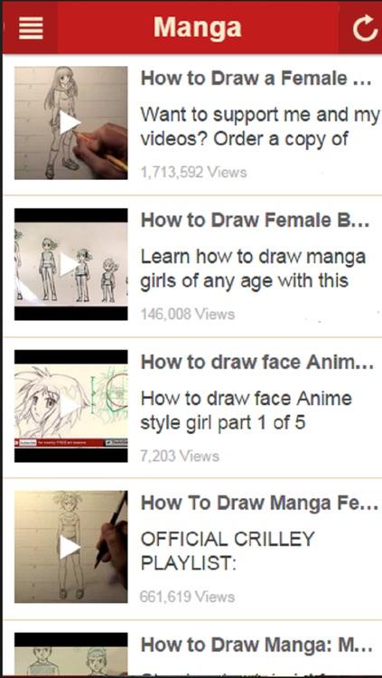 How To Draw Manga - Learn How to Draw Cartoons, Anime and More screenshot-3
