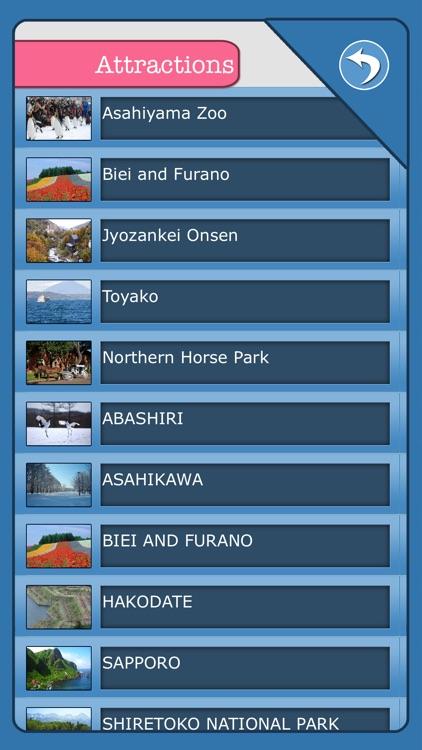 Hokkaido Island Offline Map Guide