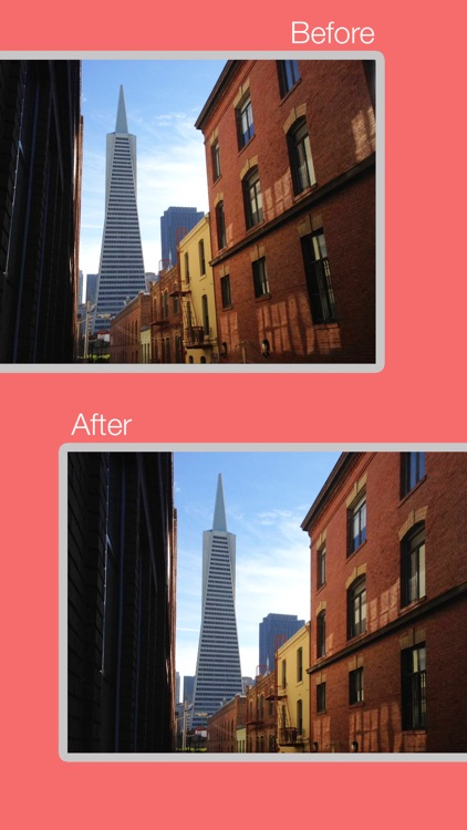 Perspective Correct - Fix distortion and skewed pictures with keystone and straighten correction from camera or photo library screenshot-3