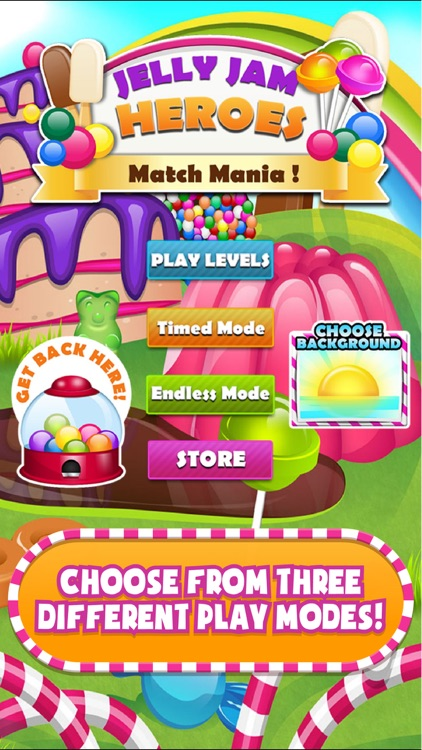 Gummy Jelly Jam Heroes! Sweet Bubble Popping Match Game - Full Version screenshot-3