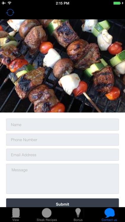 Beautiful Steak Recipes - Barbecue screenshot-3