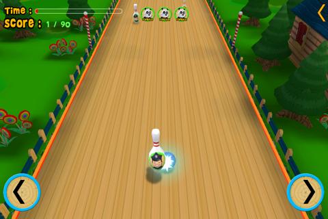 jungle animals and bowling for kids - no ads screenshot 3