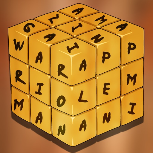 Amazing Word Warrior Mania Pro - best brain training board game icon
