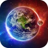 Galaxy Space Wallpapers & Backgrounds - Custom Home Screen Maker with HD Pictures of Astronomy & Planet - iPhoneアプリ