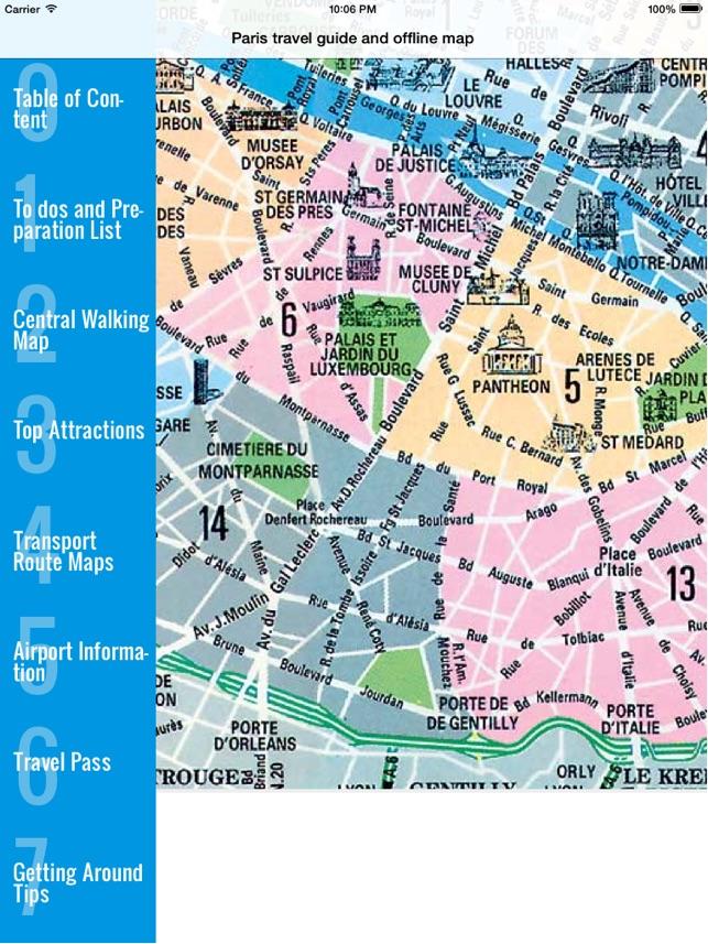 Paris travel guide and offline map - metro paris subway, CDG ORLY roissy  paris airport transport, city Paris guide, SNCF TGV traffic maps lonely ...