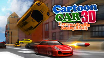 Cartoon Car 3D Real Extreme Traffic Racing Rivals
