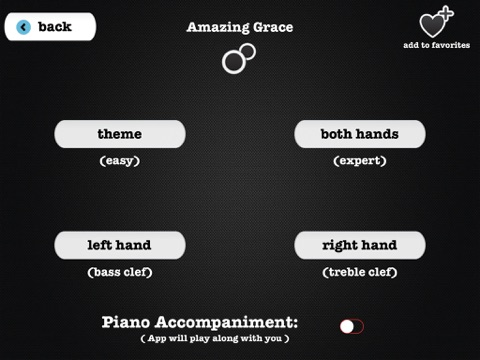 Piano ∞: Learn screenshot