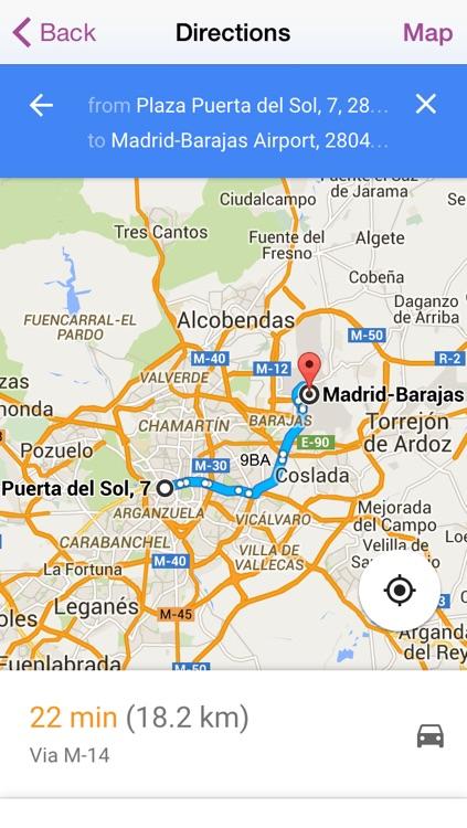 Madrid Travel Guide - Offline Map screenshot-4