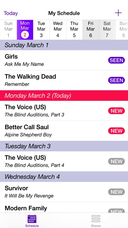My TV Show Tracker Plus screenshot-0