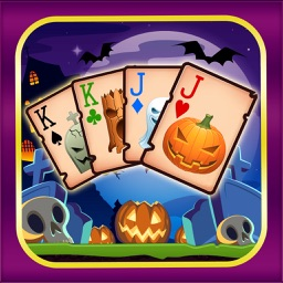 Chilling Halloween Tri Tower Pyramid Solitaire
