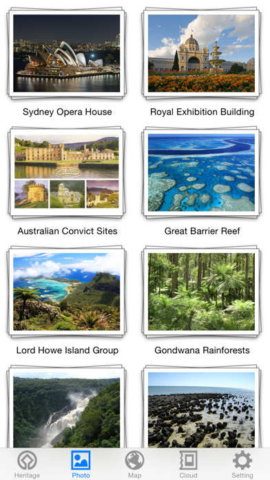 World Heritage in Australia for Windows