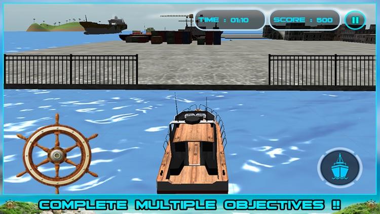 Sailing Cruise Ship Simulator 3D screenshot-4