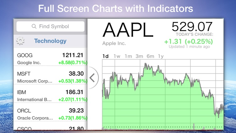 Stock Box - Stocks, Charts & Markets screenshot-2