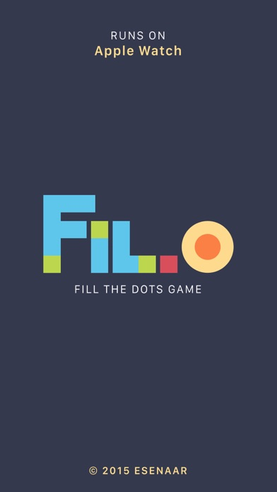 Fil-O: Fill the Dots