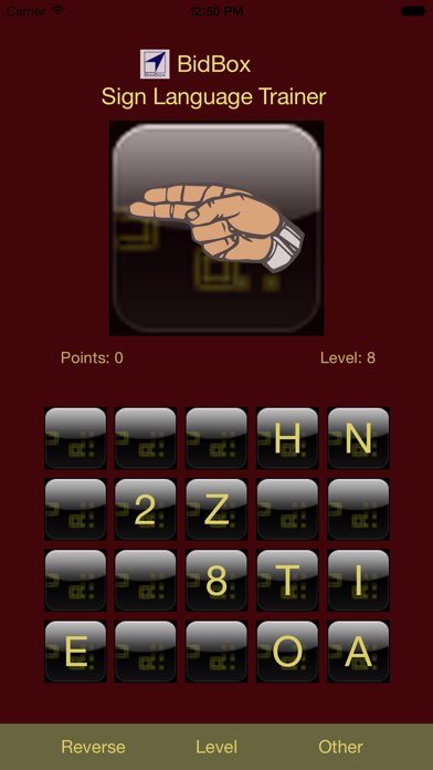 Sign Language Alphabet Trainer (ASL) Screenshots