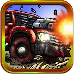 Death Racers Vs. Zombies - Crazy Avoid Obstacles and Crush the Enemy Action Game