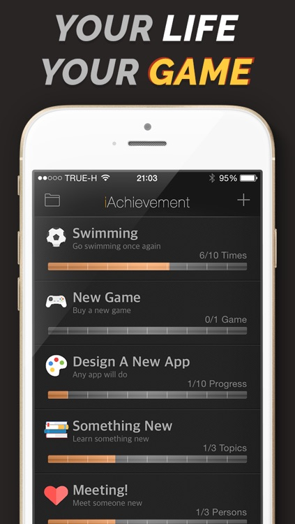iAchievement - Gamify Your Life screenshot-0