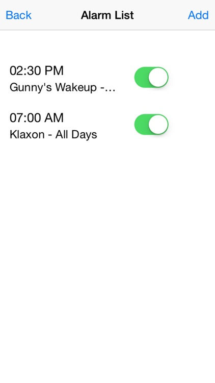 Gunny Ermey's Alarm Clock screenshot-2