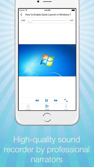Video Tutorial for Windows 7 - Secrets, Tips & Tricks on the App Store