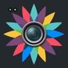 画像エディタ-:焦点 高める ステッカー 額縁 写真撮影 のために Facebook, Line Play Card Q, Ameba, Twitter, Instagram, Fivetalk, Kakao, 友達を探す, Viber, Tumblr, グリー, WeChat & もっと!
