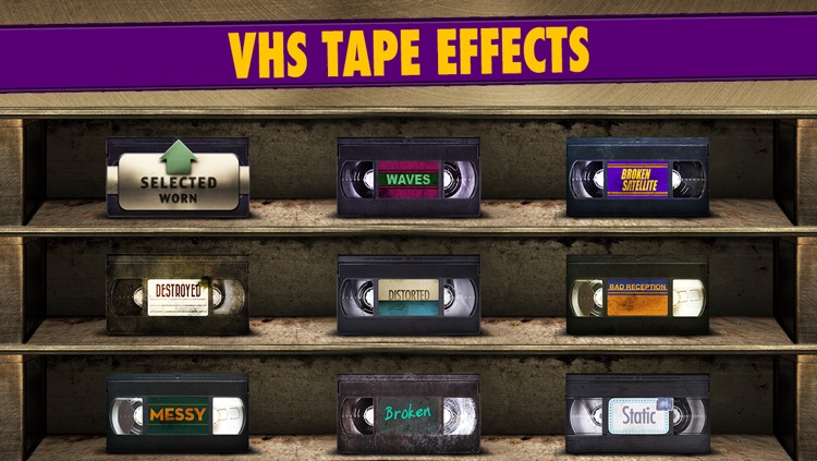 VHS FX Maker screenshot-2