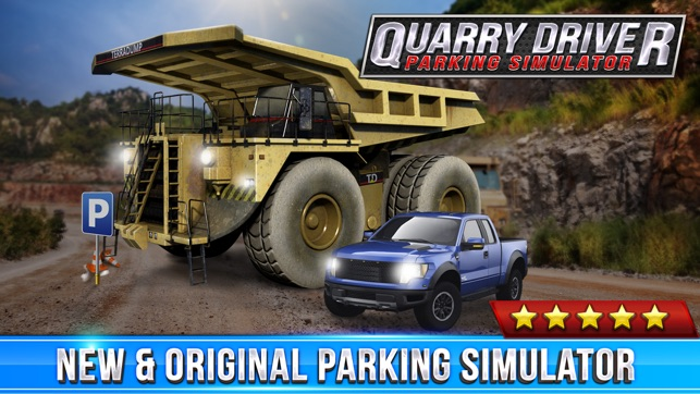 quarry driver parking game real mining monster truck. Black Bedroom Furniture Sets. Home Design Ideas