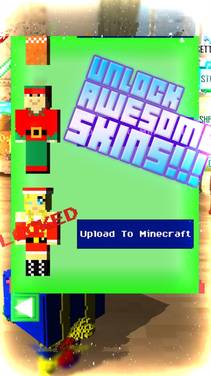 1000000 voxel gifts christmas edition 3d with minecraft skin uploader