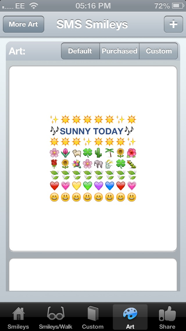 SMS Smileys app image