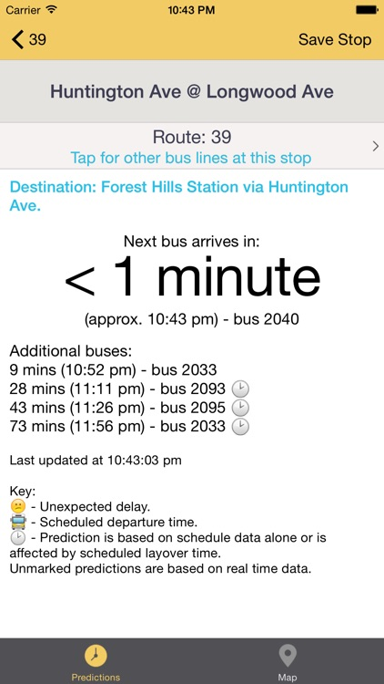 Catch The Bus: Real Time Bus Predictions