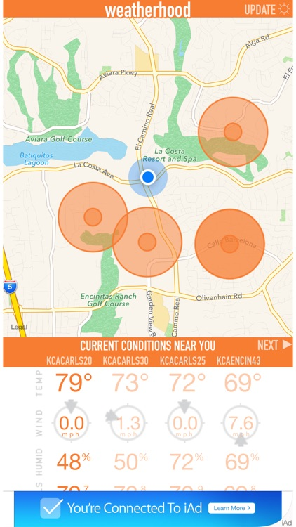 Weatherhood - Hyperlocal Weather