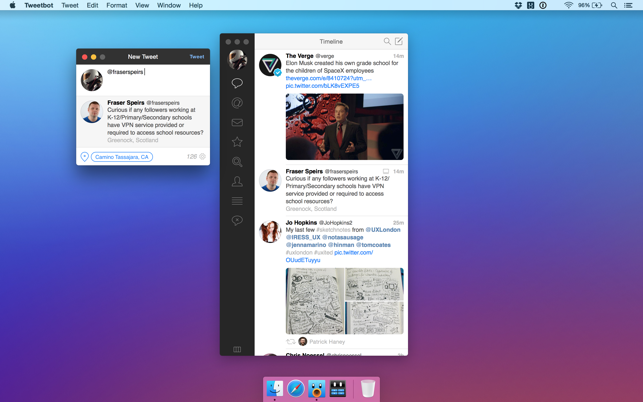 Tweetbot 2 for Twitter Capture d'écran