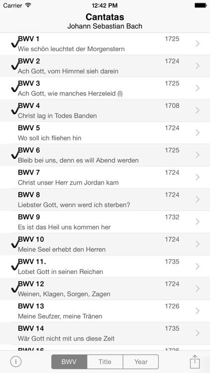 Bach Cantatas screenshot-0