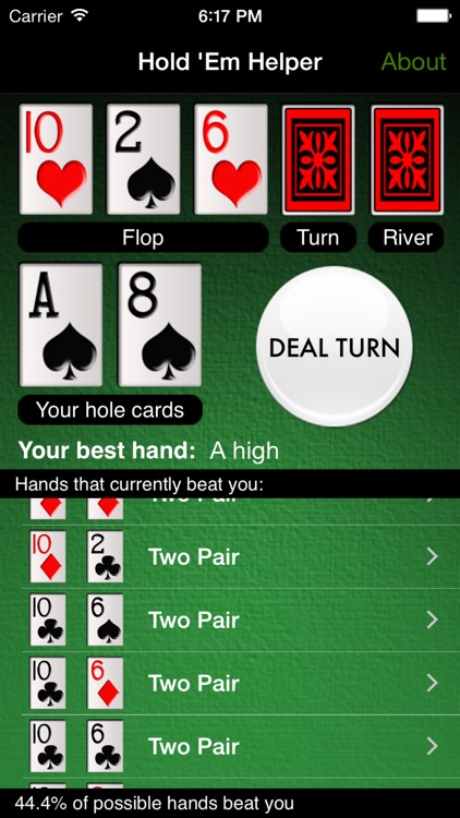 Hold 'Em Helper screenshot-1