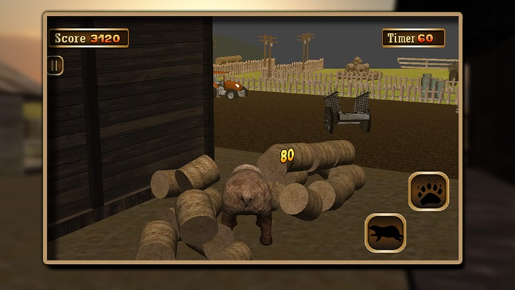 3D Bear Simulator – wild adventure simulation game screenshot-4