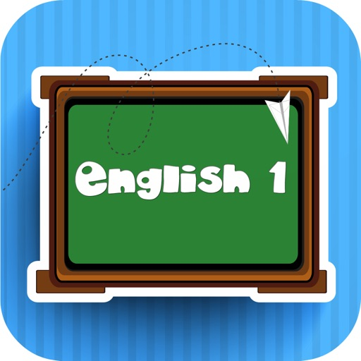 English One ~ fun pre k learning number color word for kid and toddler iOS App