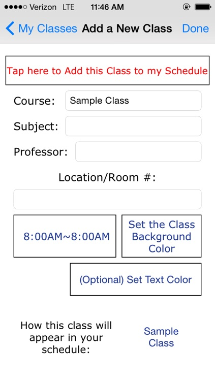 My Classes (Visualize!) screenshot-3