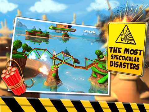 Bridge Builder Simulator - Real Road Construction Sim-ipad-2