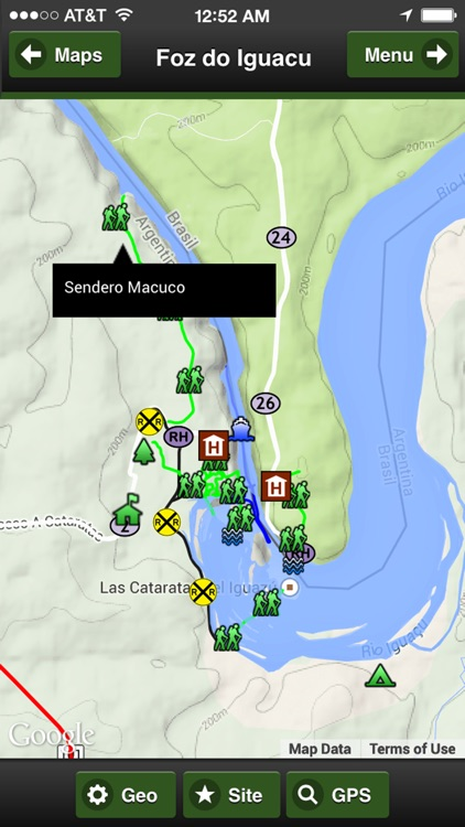 Foz do Iguacu Trail Map Offline screenshot-4