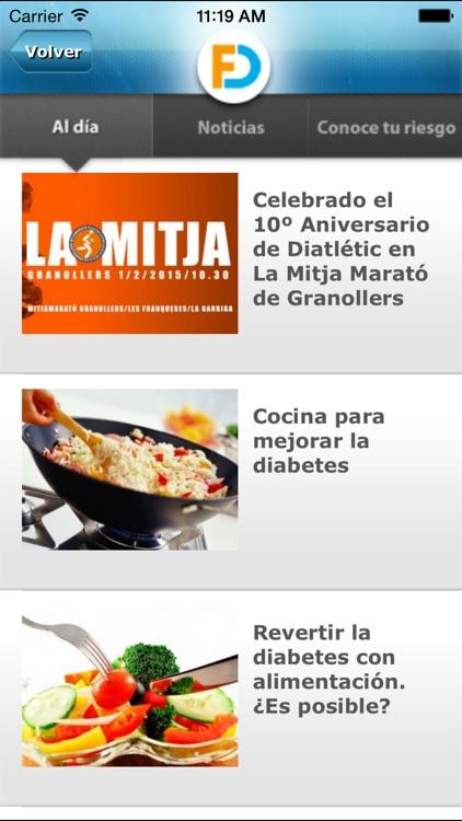 Fundación para la Diabetes screenshot-3