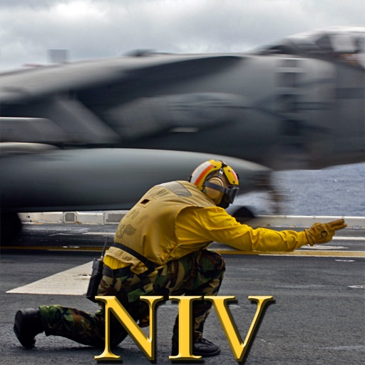 Navy Psalm Daily Quotes NIV