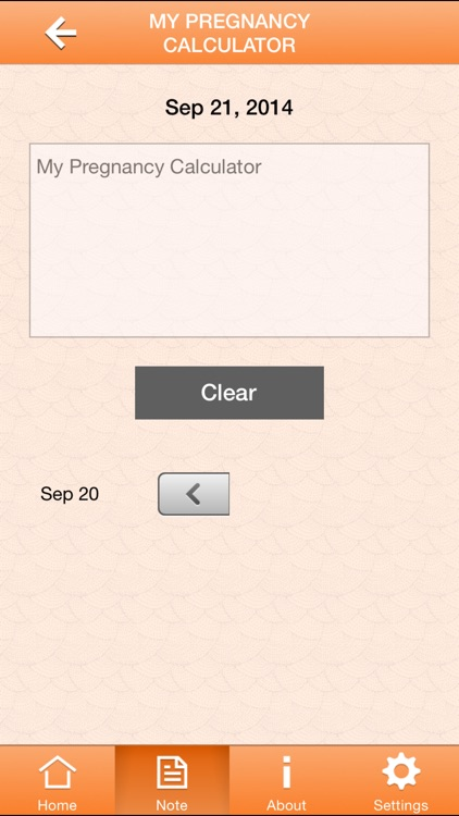 My Pregnancy Calculator screenshot-2