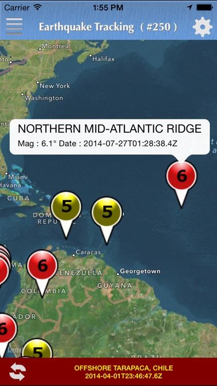 Earthquake Tracking
