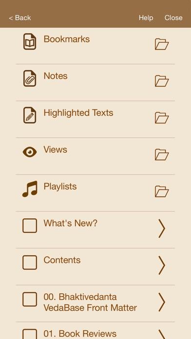 Screenshot for Bhaktivedanta Vedabase in India App Store