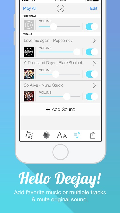 Video Cover FREE - Add Title Watermark and Background Musics to Video for Instagram screenshot-3